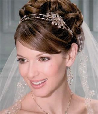 Bel Aire Bridal Headpiece - 8670 (Bridal Headpieces, Bel Aire Bridal Bridal Headpieces, Bel Aire Bridal)