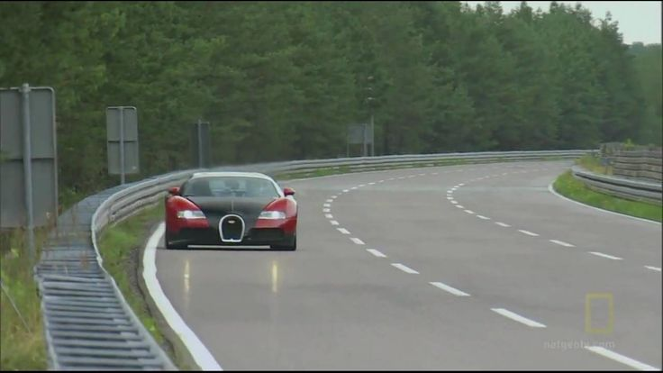 Bugatti Veyron Top Speed - I can't even imagine. Petty neat. Listen to how much gas it gets per mile. Ha, ha!! Here I'm complaining about my truck. : )
