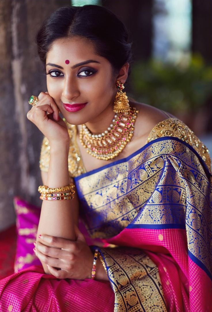 Quintessential indian beauty