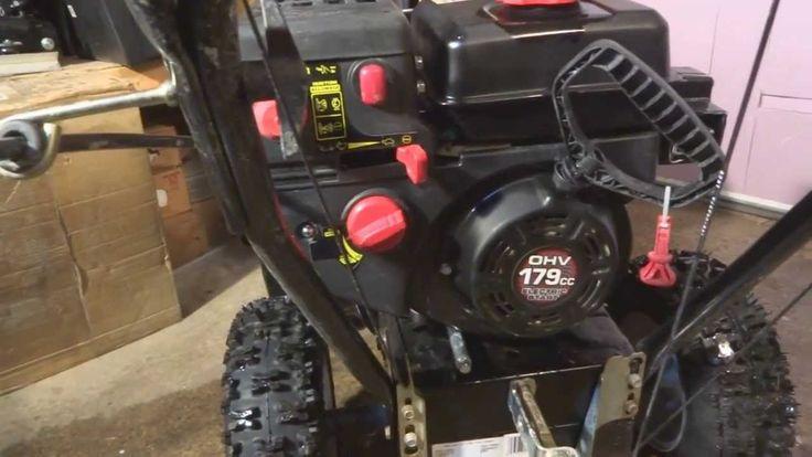 MTD Powermore engine - Replacing the carburetor - Part 1