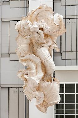 Peter Gentenaar ~ Ornamental Paper Deformities (paper moulded from flax and hemp pulp)
