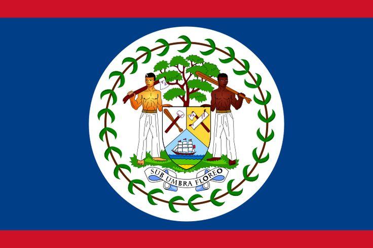 Fichier:Flag of Belize.svg