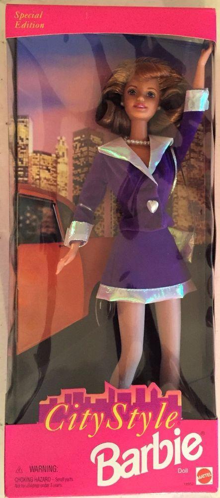 City Style Barbie  #18952 Auburn Reddish Hair 1997 #Mattel #Dolls