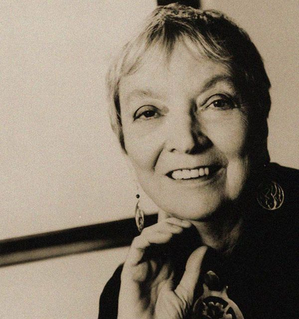 Madeleine L'Engle, one of the greatest female sci-fi/fantasy authors ever, as listed by Flavorwire.