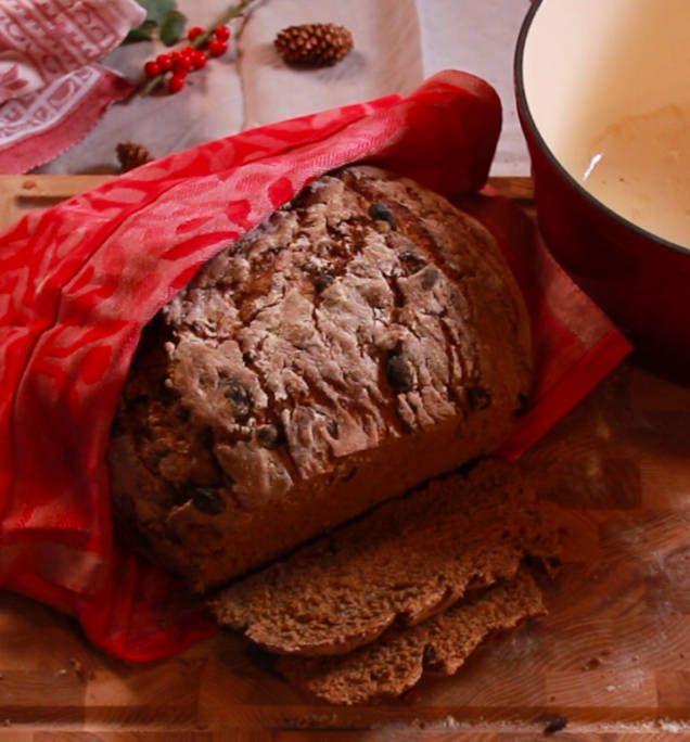 Bröd i gjutjärnsgryta - recept - Mitt kök