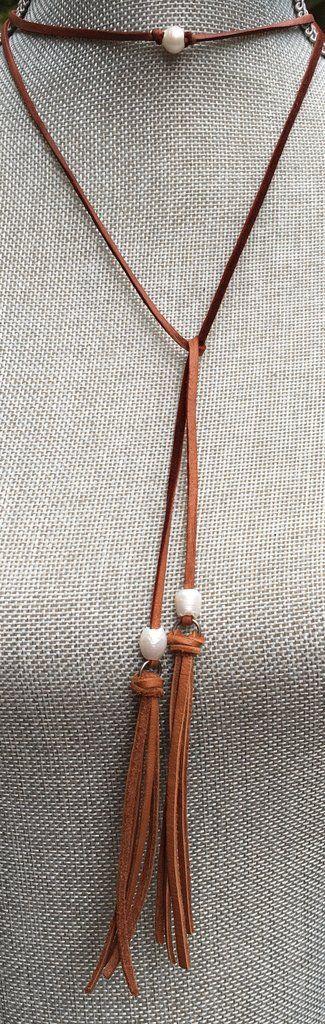 Long Pearl Choker Necklace                                                                                                                                                                                 Más
