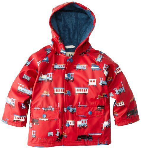 Recommended Today  Hatley Boys 2-7 Children Rain Coat, Trains, 1T