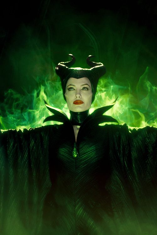 Angelina Jolie as Maleficient (2014)                              …