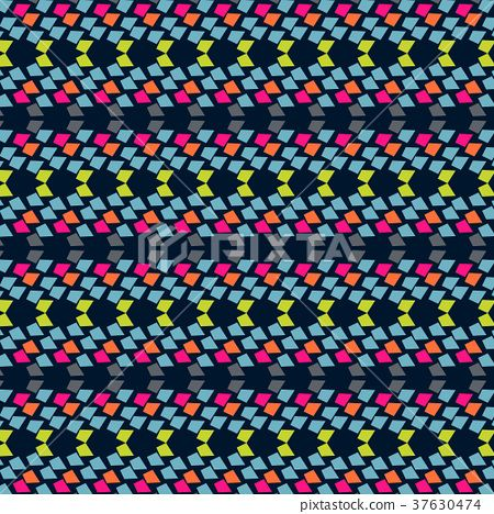 Abstract vector geometric background design