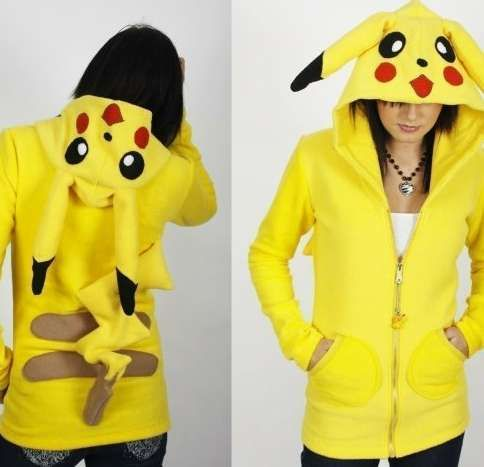 The Custom Erosdiy Pokemon Hoodie by Eros DIY Design is Perfect for Gamers #geeky trendhunter.com