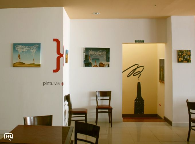 Hotel Pirén by Materia 360. Gallery+art+design+walls