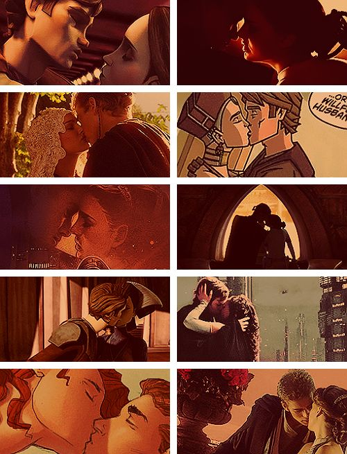 Padme and anakin sex comic