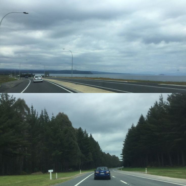 En route from Taupo to the Rangipo Desert Road, New Zealand