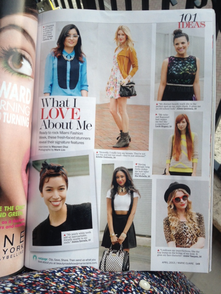 my daughter's fabulous life!  * Marie Claire