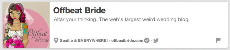Offbeat Bride | The 25 Best Pinterest Accounts To Follow When Planning Your Wedding
