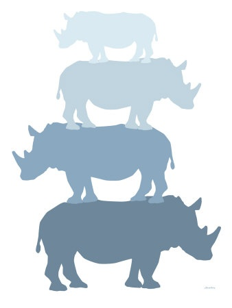 blue rhino  (in honor of ry...)