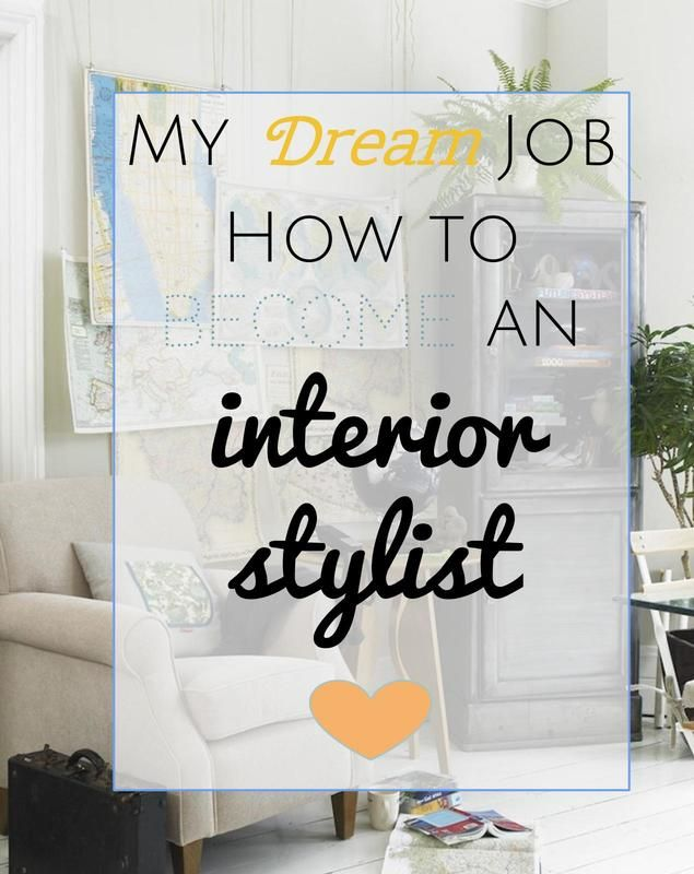 How I became an Interior Stylist