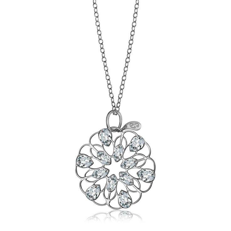 Pavoni - srebrna zawieszka (AWCL170 - 47624) z kategorii: Biżuteria. Dostępny w cenie: 215PLN. Wygląd: Srebro; Kryształ Swarovskiego