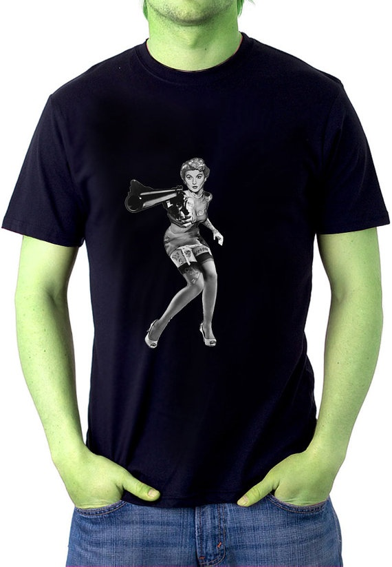 I want this! Rockabilly PinUp Mens Tshirt 50s June Cleaver's by ZombieFriedTees, $20.00