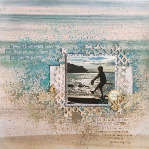 Kaisercraft Coastal Escape. Leonie Neal-Dawson
