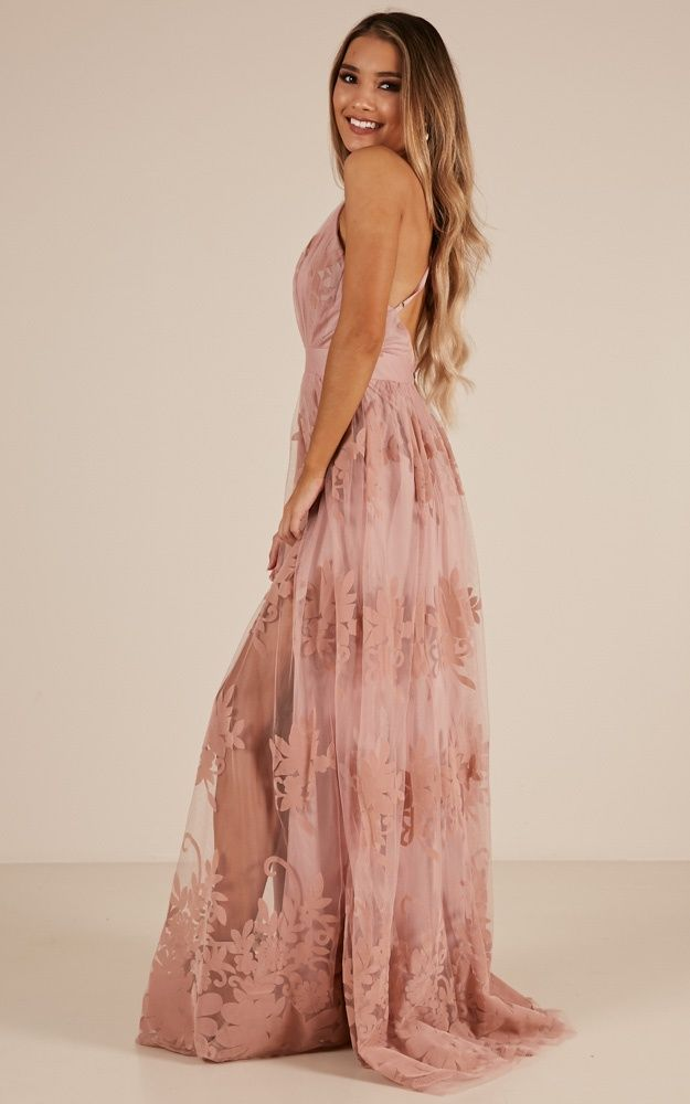 e9610ec9c96e Promenade Maxi Dress In Blush Produced in 2019 | Dress | Semi formal ...