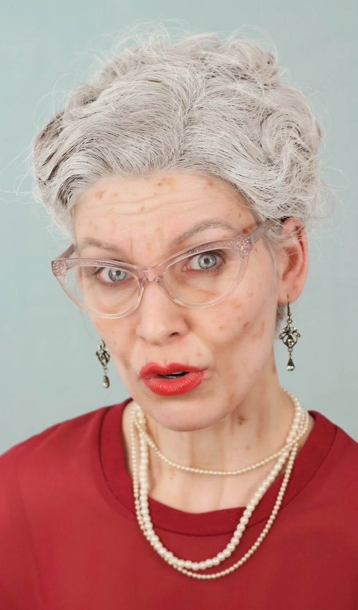 Old Lady | Aged Makeup