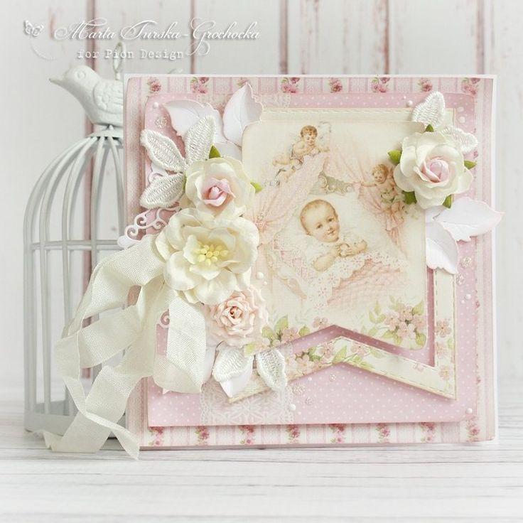 Delicate baptism card » Pion Design's Blog