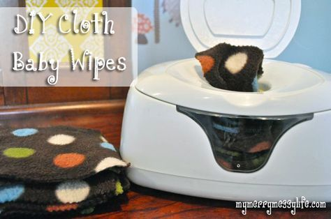 Homemade Cloth Baby Wipes with no sewing! http://www.mymerrymessylife.com/2012/03/apple-cider-vinegar-all-its-wonders.html