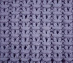 Cast On an odd number of stitches. Row 1: (wrong side) K1, *P1, K1* repeat * to * to end. Row 2: P1, *SL1 (purl wise), P1* repeat * to * to end. These 2 rows form the pattern. by Liz Wiz