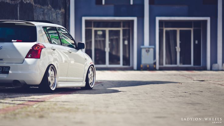 The double trouble of love || Daniel's Swift part II | Lady | On | Wheels - Indonesian Stance & Hellaflush Car Photography