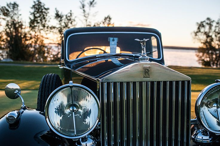 Cobble Beach Concours d'Elegance 2013 - a show of elegant and rarely seen automobiles on the shores of Georgian Bay