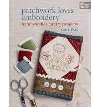 A collection of patchwork and hand-embroidery projects. Featuring full-sized hand-embroidery designs, it features 15 projects, including wall hangings, table runners, totes, and fabric covers for books or folders. It also helps you can quickly learn the basics: using the correct needle, choosing threads & fabrics, and transferring the designs.