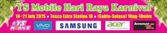You are invited to join YS MOBILE Hari Raya Karnival in Ipoh.