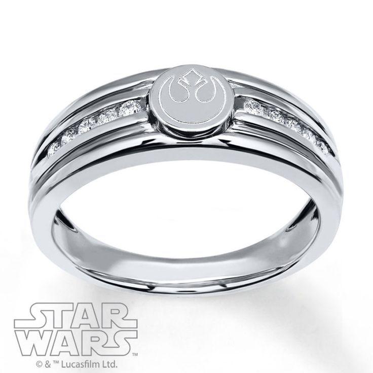 New Kay Jewelers X Star Wars Rings Geek Star Wars Ring Star Wars Jewelry Star Wars Wedding Ring