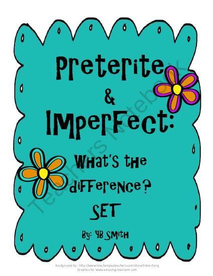 Learn Spanish: preterite vs imperfect games