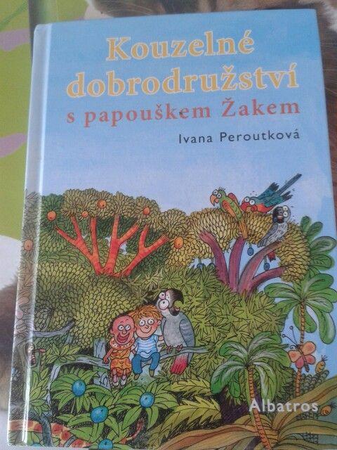 Kouzelné dobrodružství s papouškem Žakem - Ivana Peroutková