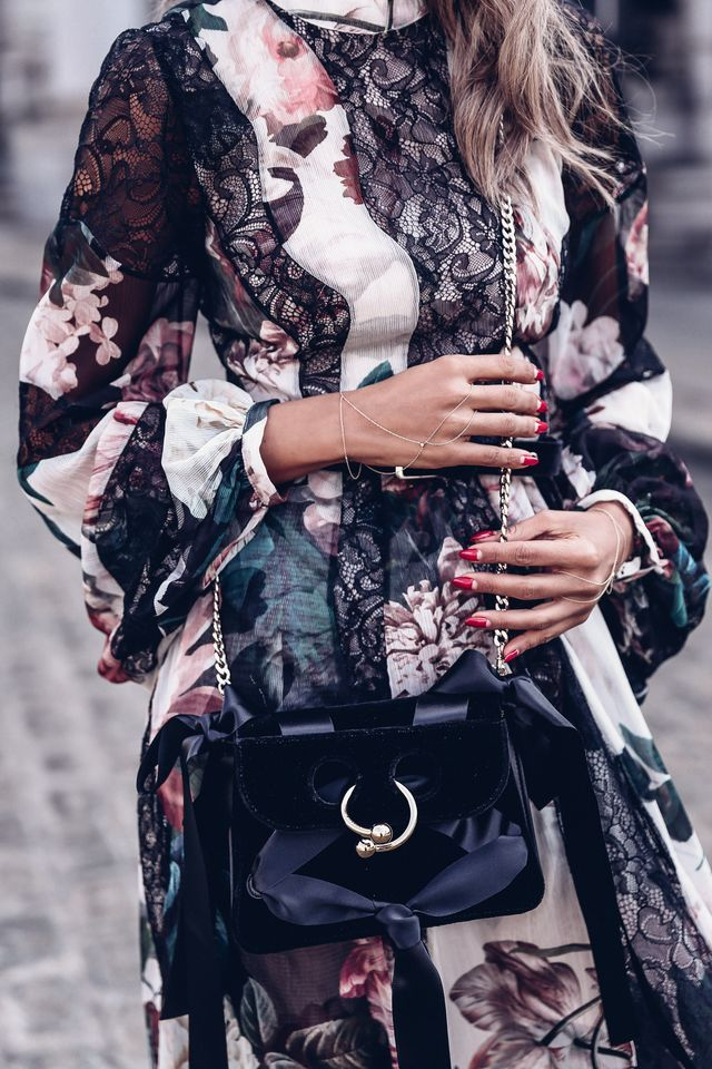 NYFW Day 2: Dark Florals