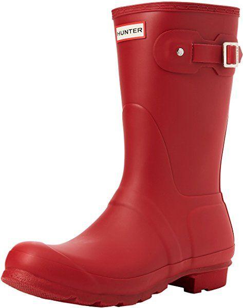 Hunter Damenschuhe Rain Original Short Dk Slate Rain Damenschuhe Boot 6 B(M ... b5fa5f