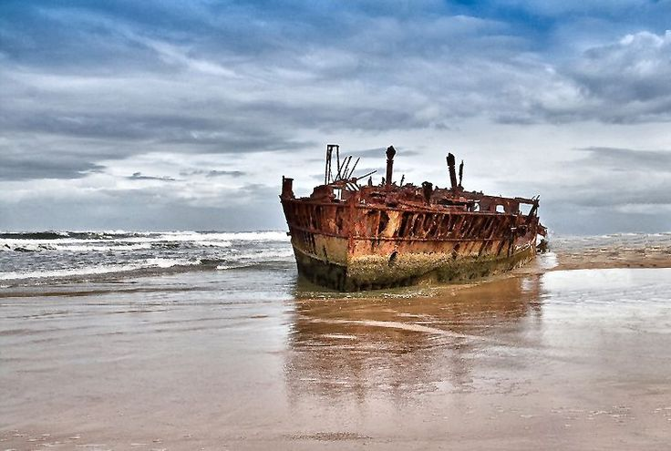 Shipwrecks near Brisbane
