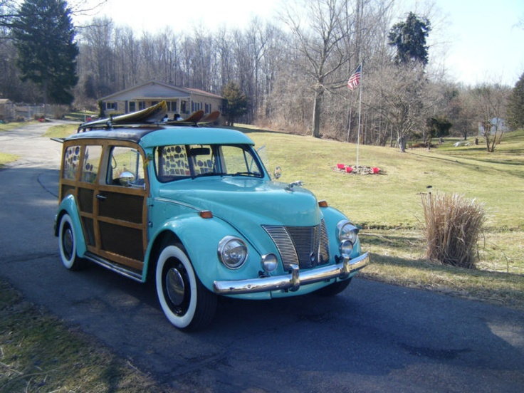 Restored 1967 Volkswagen Beetle VWs amp station wagons