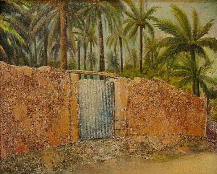 Iraqi artist,  Ibthal Alkalidi من أعمال الفنانة العراقية ابتهال الخالدي