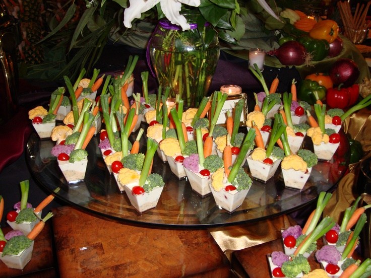10 Best Images About Creative Food Displays On Pinterest Veggie Dip Cups Stress Free And