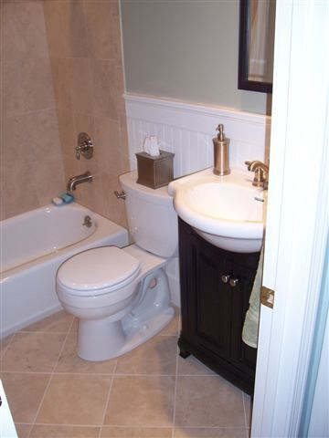 Small Bathroom Plans 5x7 | Simple Small Bath, Small Bathroom Remodel,  After, Bathrooms