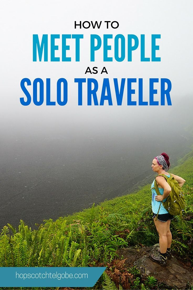 kate meet people when traveling alone