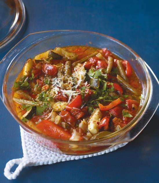 Gemüseeintopf aus dem Ofen Rezept - [ESSEN UND TRINKEN]