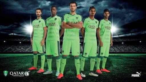 Al Ahly Saudi FC | home jersey | 2015-16
