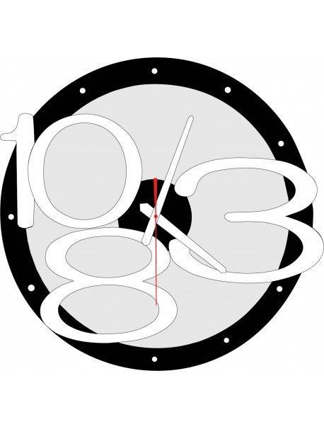 3D wall clock Exclusive, color: black, white numbers, hands color: white Reference:  X00013-RAL9005-RAL9010 Condition:  New product  Availability:  In Stock  Time to change! Decorating watches will revive every interior, highlight the charm and style of your space. Discover your living with new clocks. Plexiglass wall clocks are a wonderful decoration of your interior.