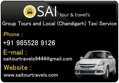 Enjoy group tours at Sai tour & travels. #Chandigrah #Mohali #Panchkula #Taxiservice