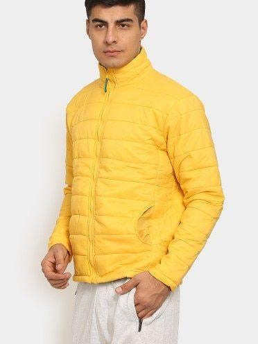 Buy abof Men Yellow Regular Fit Winter Jacket online at abof.com