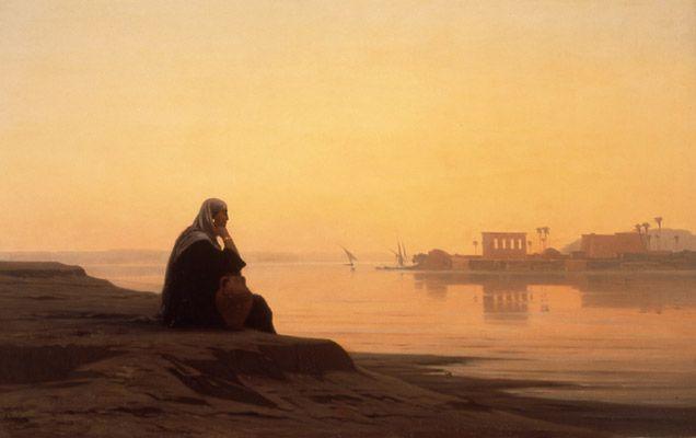 Der Nil bei Philae 1869
